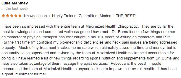 best chiropractors in centennial co