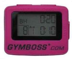 interval timer pink