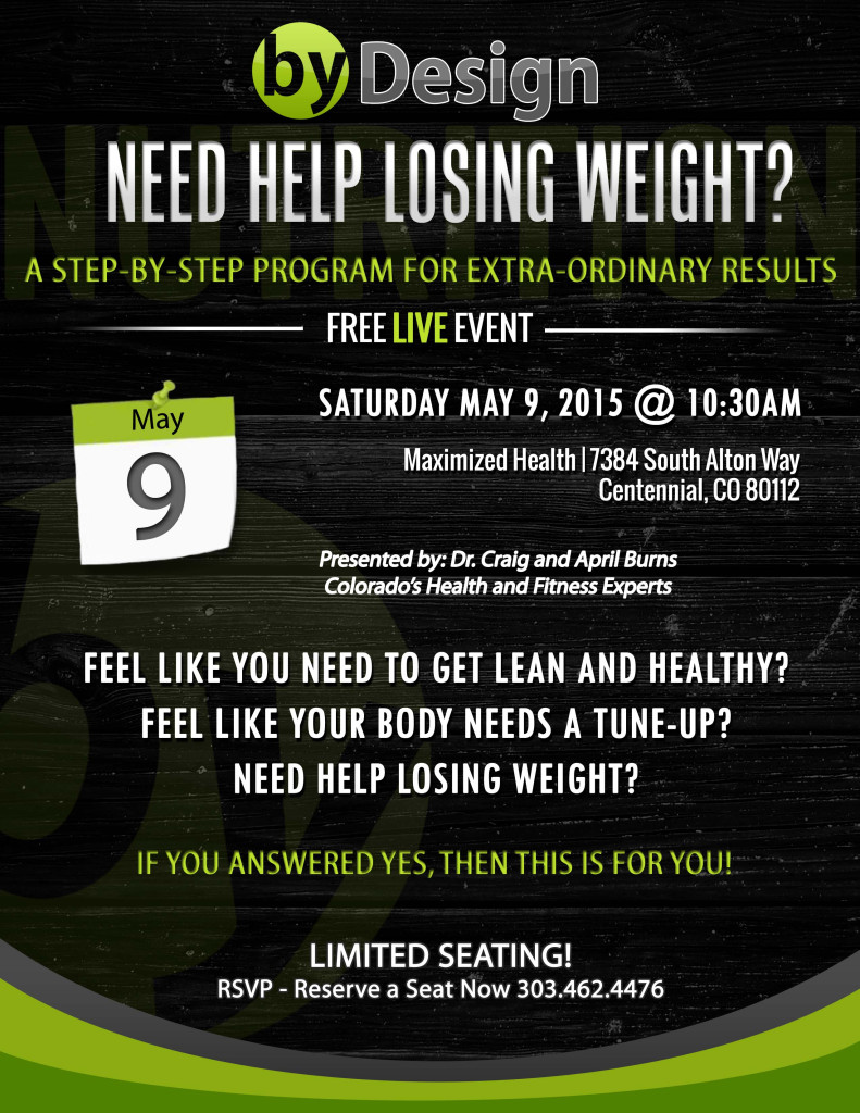 need help losing weight 2015 flyer
