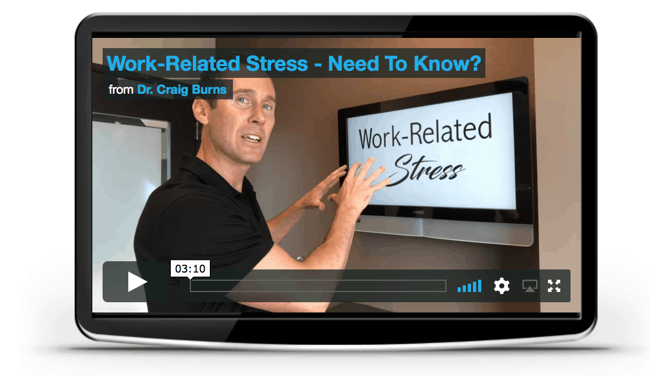 chiropractor centennial Work related stress