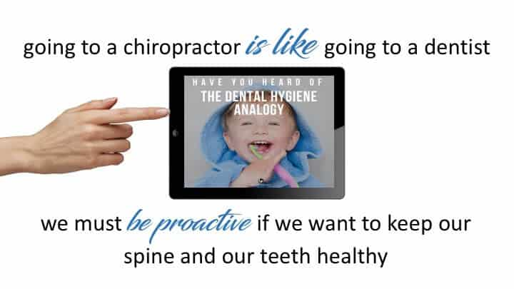 chiropractor centennial says be proactive
