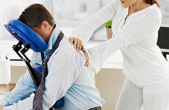 chiropractor centennial chair massage