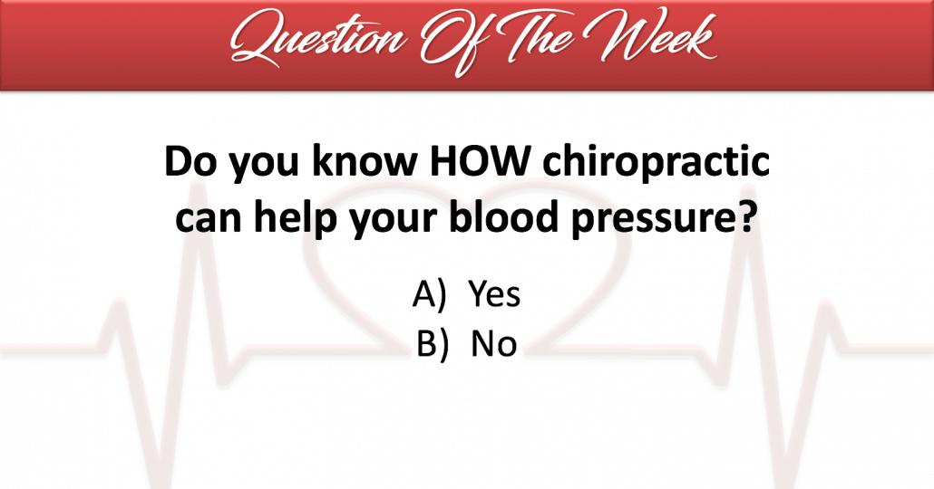 chiropractic and blood pressure chiropractor centennial