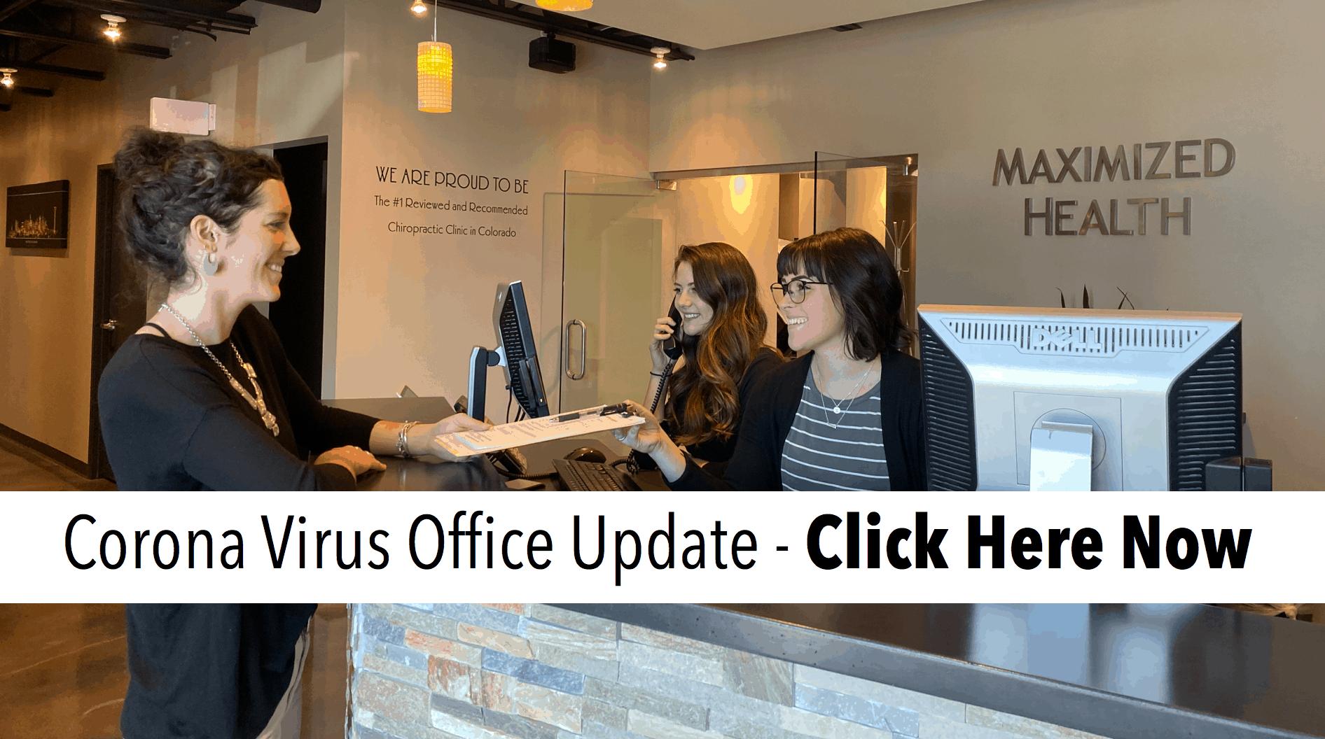 Chiropractor Centennial Office Update